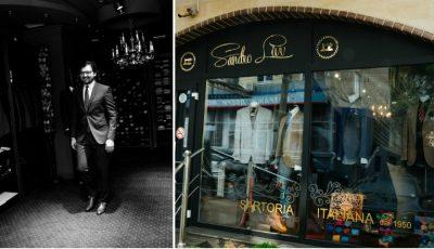Fotograful Alexandru Cornițel a lansat un magazin de haine