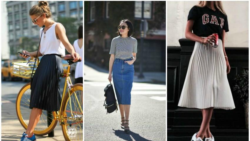 Foto: Cum poți purta fusta midi în această vară