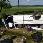 Foto: Accident lângă Gura Galbenei. Două persoane şi-au pierdut viaţa