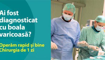 Operăm BOALA VARICOASĂ rapid și bine! Chirurgia de 1 zi la Medpark