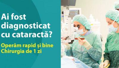 Operăm CATARACTA rapid și bine! Chirurgia de 1 zi la Medpark