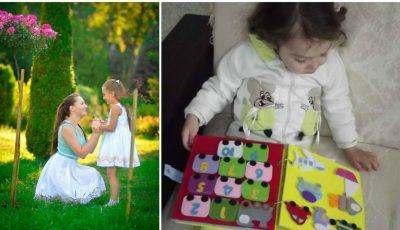 Ecaterina Cojan, femeia care confecționează cărți senzoriale