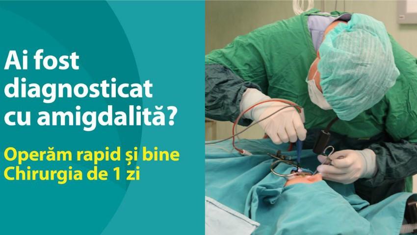 Foto: Operăm AMIGDALITA rapid și bine! Chirurgia de 1 zi la Medpark