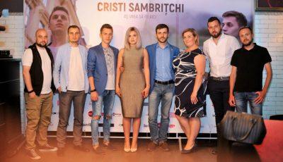 Cristi Sambrițchi s-a lansat în showbiz cu mare fast