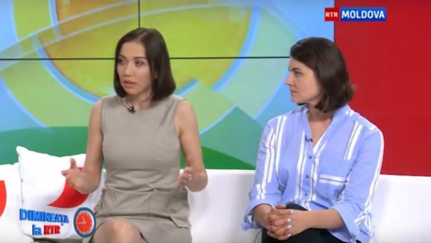 Foto: Galina Tomaș a vorbit despre Tabăra de Detox la RTR