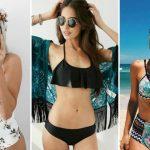 Foto: Modele de costume de baie pentru femeile cu sânii mici