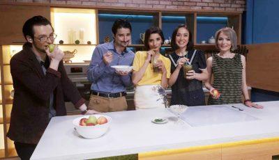Galina Tomaș a gătit cu Matinalii de la TVR Moldova