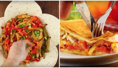 O rețetă exotică: plăcintă cu legume și pui!