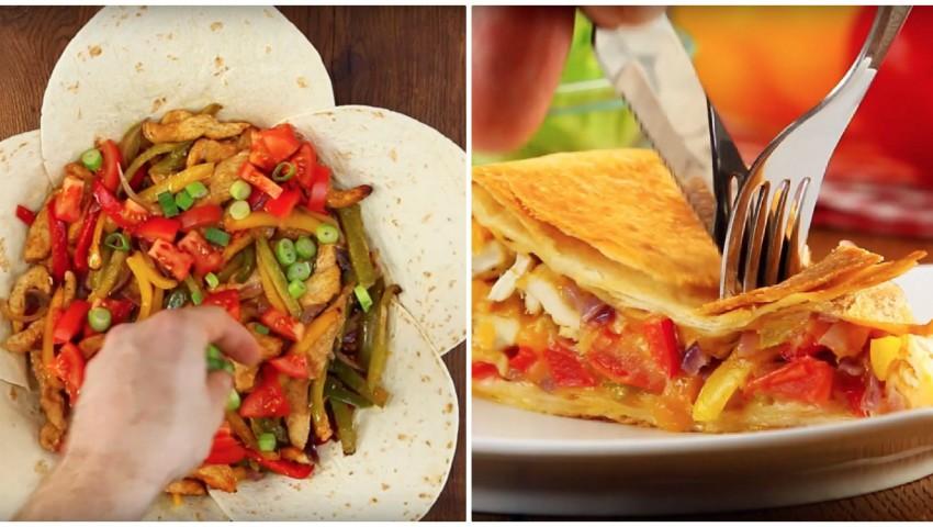 Foto: O rețetă exotică: plăcintă cu legume și pui!