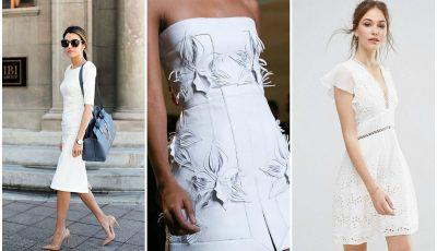 Vara aceasta alege să te îmbraci în alb
