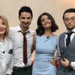 """Foto: """"Matinalii"""" de la TVR Moldova fac declarații în exclusivitate despre prima emisiune live din această dimineață"""