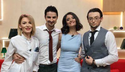 """""""Matinalii"""" de la TVR Moldova fac declarații în exclusivitate despre prima emisiune live din această dimineață"""