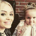 """Foto: Cornelia Ștefăneț, despre fiica sa: """"Este un copil cuminte, înțelept și onest"""""""