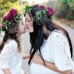 Foto: Atât de dulce! 15 poze cu mămici și fetițele lor