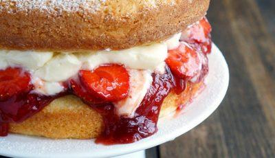 Prăjitura preferată a Reginei Victoria. O poți găti și tu