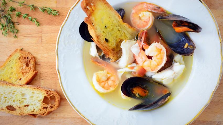 Foto: Supă veneţiană de peşte