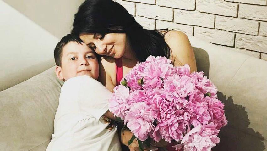"""Foto: Svetlana Sainsus, despre fiul său: """"Îi sunt și mamă, și prietenă"""""""