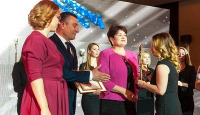 """SA """"Floreni"""" a primit un titlu de valore la Gala Businessului Moldovenesc"""