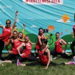 Foto: Weekend fierbinte pentru sute de chișinăuieni! S-au mișcat pe pași de dans împreună cu echipa UNICA Sport