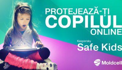Moldcell sărbătorește Ziua Internațională a Copiilor și lansează un serviciu pentru siguranța lor în mediul online