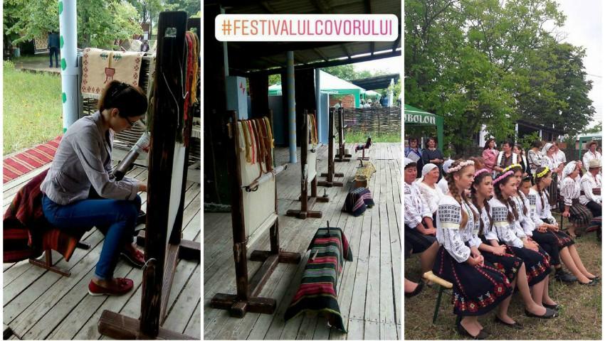 Foto: Cele mai frumoase covoare tradiționale au fost expuse în cadrul unui festival