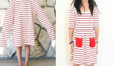 O mamă transformă hainele second-hand în ținute cu totul noi, neașteptate!
