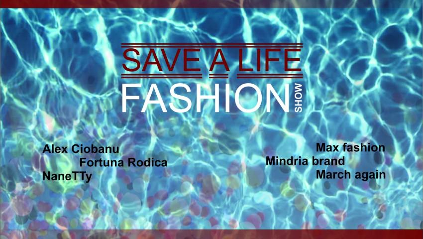 """Foto: Participă la evenimentul """"Save a life/Fashion show"""" și poți ajuta un băiețel bolnav de cancer să trăiască!"""