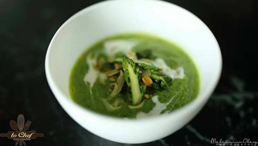 Foto: Rețetă de la bucătarul Marian Danu: Supa cremă de sparanghel