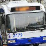 Foto: În Capitală vor fi suspendate două rute de troleibuz