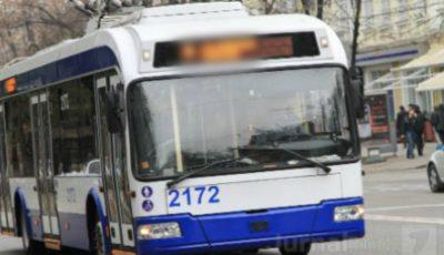 În Capitală vor fi suspendate două rute de troleibuz