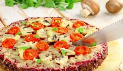 O tartă din carne și brânză, mânânci felie după felie