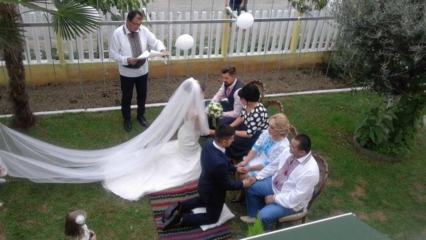 Foto: Video! Nuntă în stil basarabean în Italia, așa cum se juca pe timpuri la Ciuciuleni!