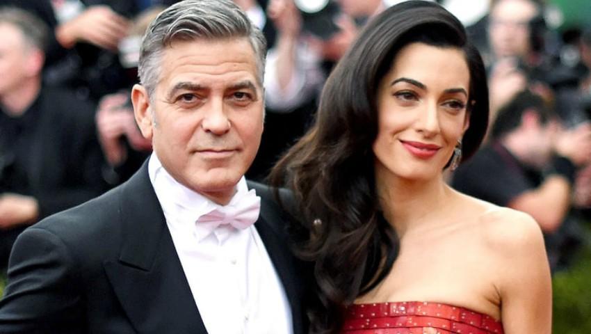 Foto: Amal Clooney a născut. Iată ce nume au primit gemenii!