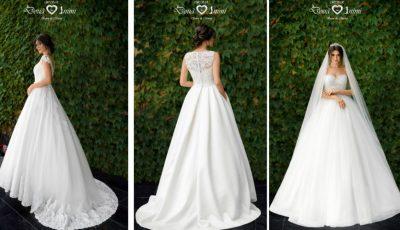 Foto. Unde poți găsi cele mai frumoase rochii de mireasă cu broderie 3D
