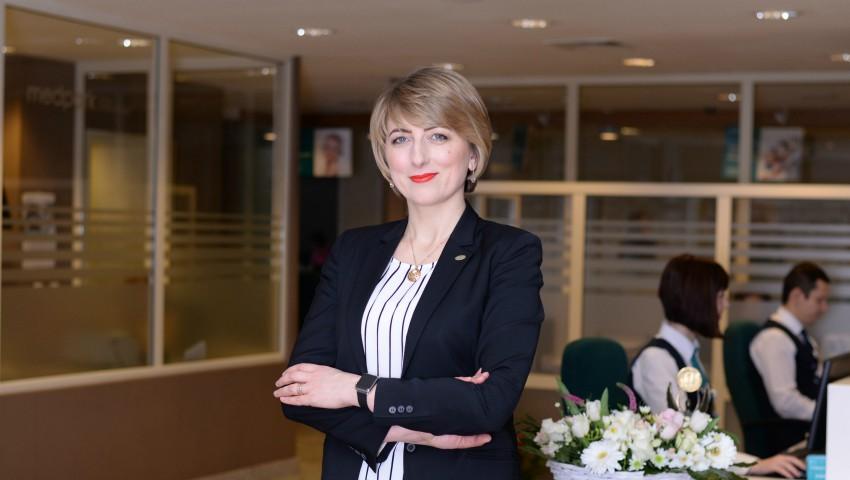 """Foto: Interviu despre chirurgia de 1 zi cu directorul general Medpark, Olga Șchiopu: """"În spate este o industrie întreagă care lucrează pentru ca acest fapt să fie realizat"""""""