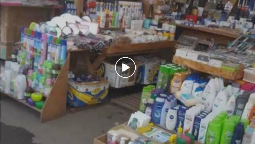 Foto: Produse de igienă, cosmetică şi parfumerie contrafăcute, depistate în Piaţa Centrală
