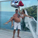 Foto: Tatiana Heghea și Eugen Rabei sărbătoresc doi ani de căsnicie, ca de obicei, original