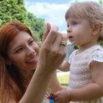 Foto: Veronica Ghimp, despre primul an de viață al fiicei sale, Eva