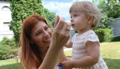 Veronica Ghimp, despre primul an de viață al fiicei sale, Eva