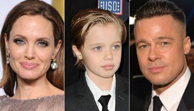 Fiica Angelinei Jolie şi a lui Brad Pitt, Shiloh, se pregăteşte pentru operaţia de schimbare de sex!