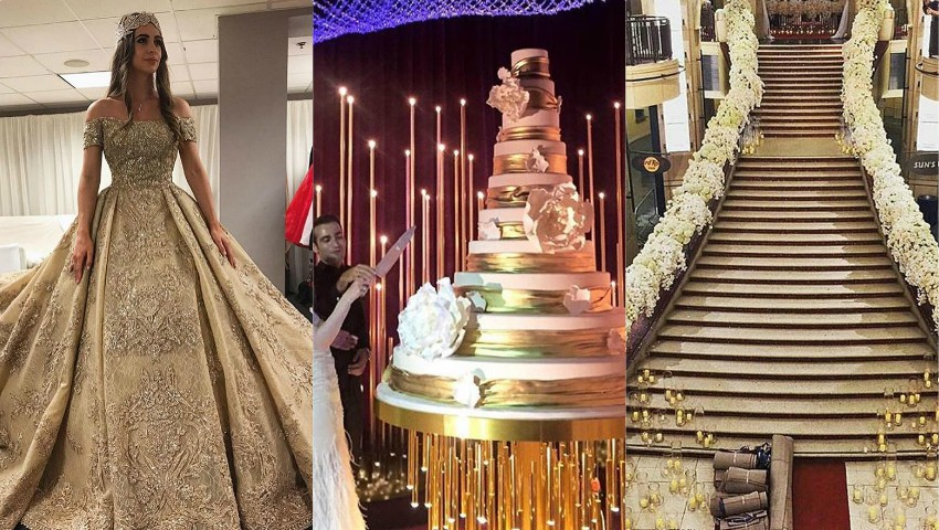 Foto: Foto și video! Lady Gaga și Jason Derülo, la nunta de milioane de dolari a unor copii de oligarhi ruși