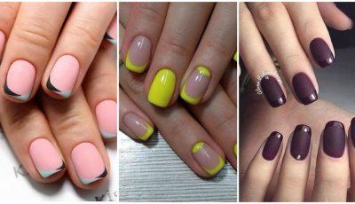 Modele de manichiură franțuzească pentru vara lui 2017: tendințe și culori!