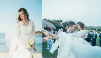 Primele poze de la nunta Cristinei Gheiceanu!