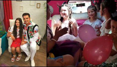 Fiica lui Igor Cuciuc a împlinit 10 ani! Artistul i-a organizat fetiței o petrecere de poveste