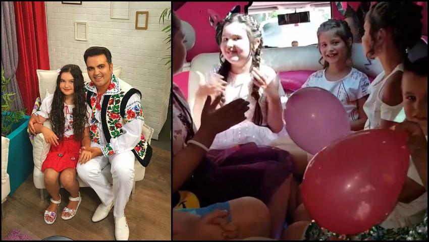 Foto: Fiica lui Igor Cuciuc a împlinit 10 ani! Artistul i-a organizat fetiței o petrecere de poveste
