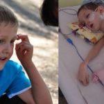 Foto: Băiețelul de 6 ani, care a fost spulberat din brațele bunicii pe o trecere de pietoni, a stat patru luni în comă!