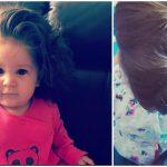 Foto: O fetiță de doar 9 luni are părul suficient de lung pentru a-l împleti. Vezi toate pozele!