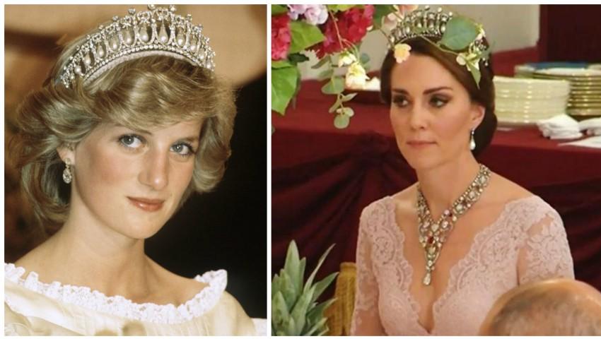 Foto: Kate Middleton a purtat tiara Prințesei Diana!