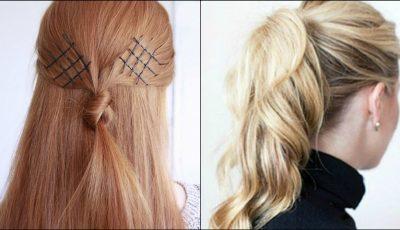 17 trucuri care te vor ajuta să-ți aranjezi părul, rapid și ușor!