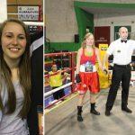 Foto: O basarabeancă este noua campioană a Italiei la box!